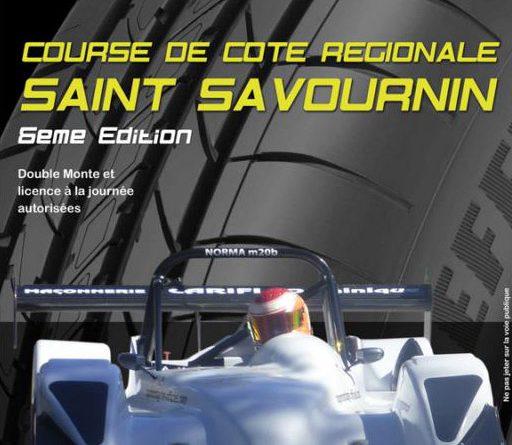 Course de Côte Saint Savournin 2017 affiche via Madness Racers
