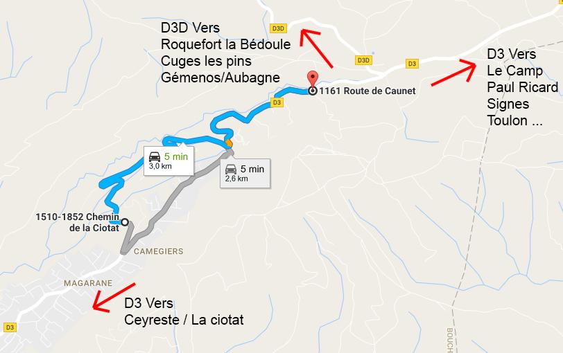 plan 3e montée historique de ceyreste