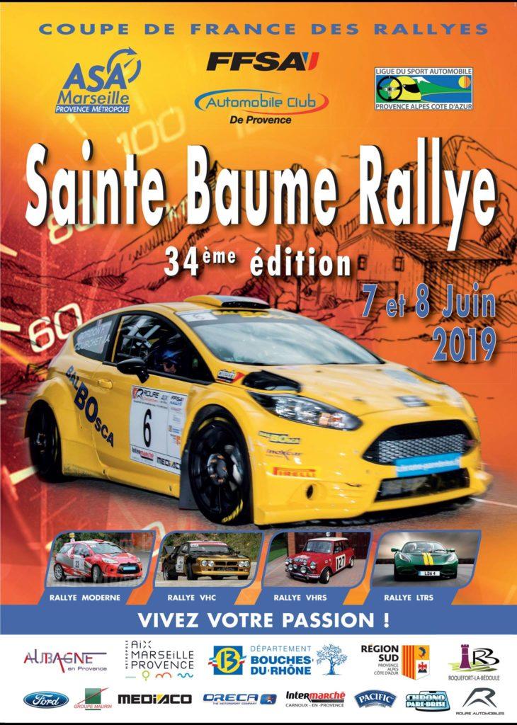 Sainte Baume Rallye 2019 - 34e Edition du Rallye de la Sainte Baume organisée par l'ASA Marseille Provence Métropole.